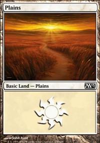 Plains (230) card from Magic 2013