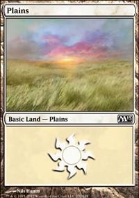 Plains (232) card from Magic 2013