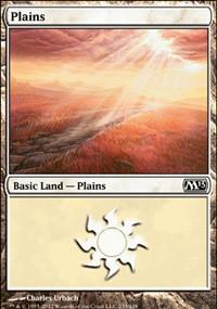 Plains (233) card from Magic 2013