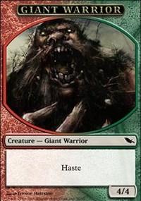 Giant Warrior Token (Red/Green)