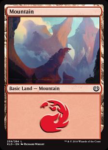 Mountain (259) card from Kaladesh
