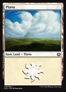Plains (250) card from Kaladesh