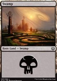 Swamp (257) card from Kaladesh
